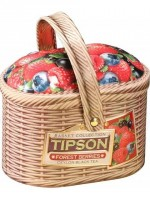 "Svart ceylon- te ""Tipson Basket Forest Berries"", 100 g"