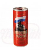 "Energy dryck med blåbär smak ""Russian Power"", 250 ml"